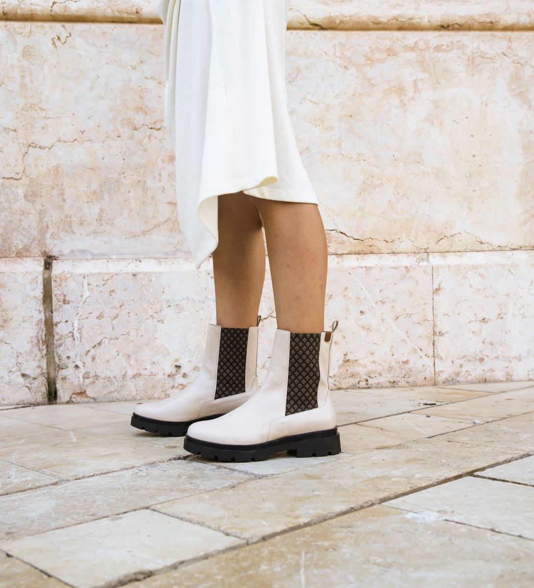 Ankle Boots Andrea Brand Beig
