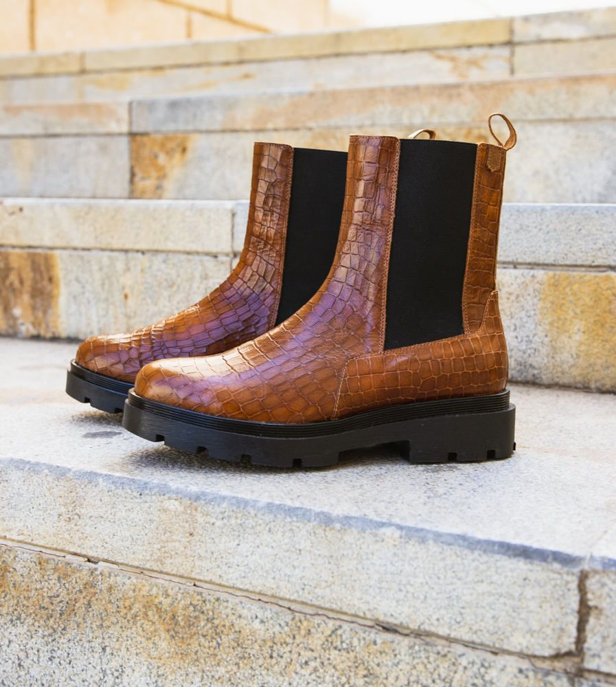Ankle Bootie Andrea Coco Leather