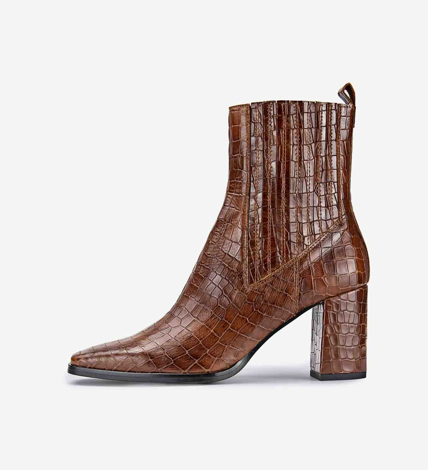 Merce Coco Leather Ankle Boot